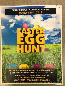 Easter Egg Hunt @ Christ Community Church