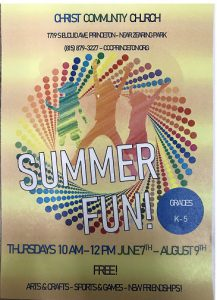 Summer Fun! @ Christ Community Church